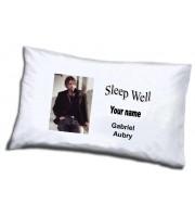 Gabriel Aubry pillowcase