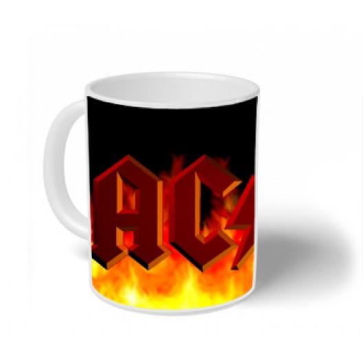AC DC Mug Personalised