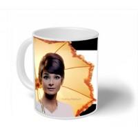 Aubrey Hhepburn mug