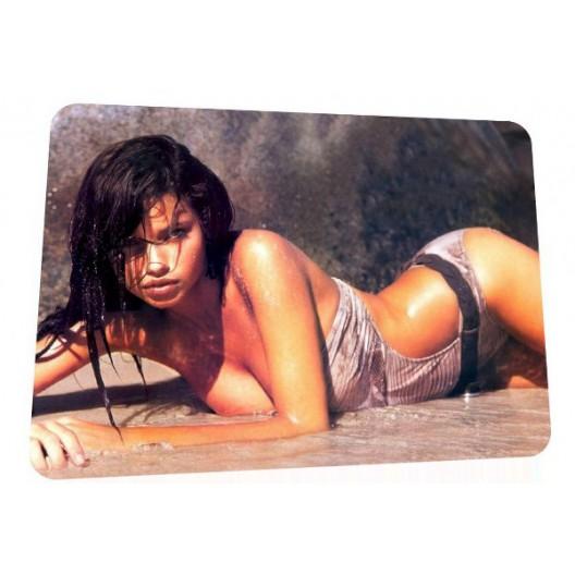 Adriana Lima mouse mat