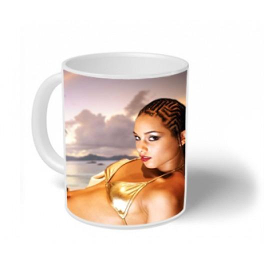 Alicia Keys Mug Personalised
