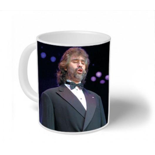 Andrea Bocelli Mug Personalised
