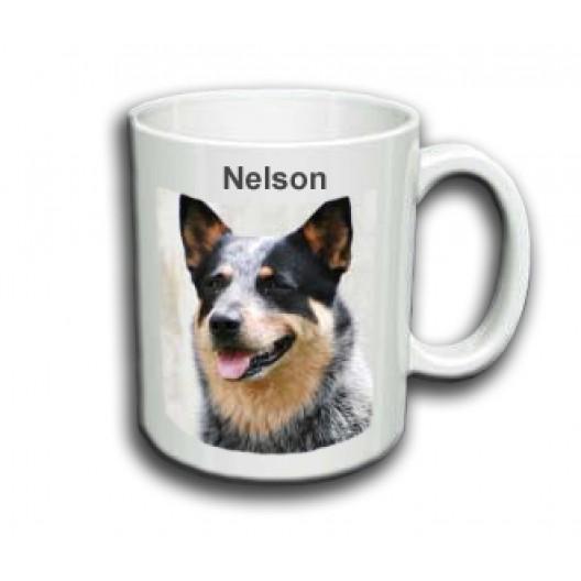 AusTralian CaTTle Dog Mug Personalised