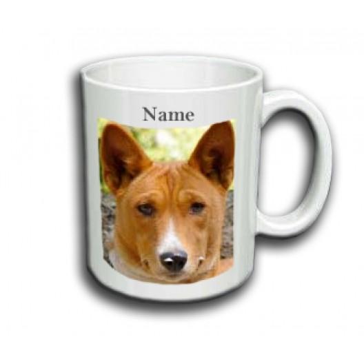 Basenji Mug Personalised