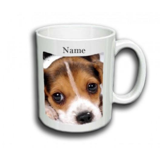 Beagle Mug Personalised