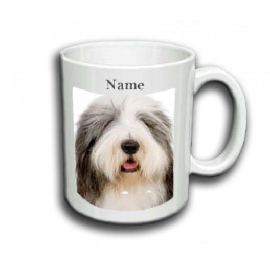 Bearded Collie Mug Personalised