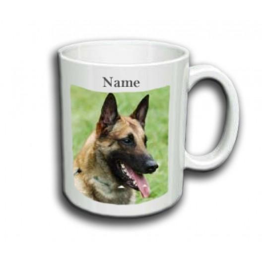 Belgian Malinois Mug Personalised