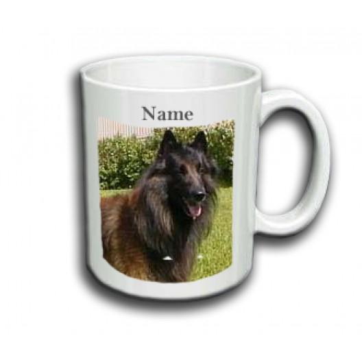 Belgian Tervuren Mug Personalised