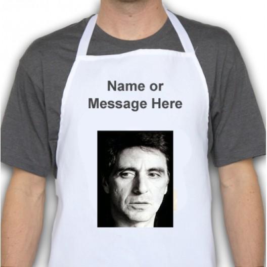 Al Pacino Apron personalised