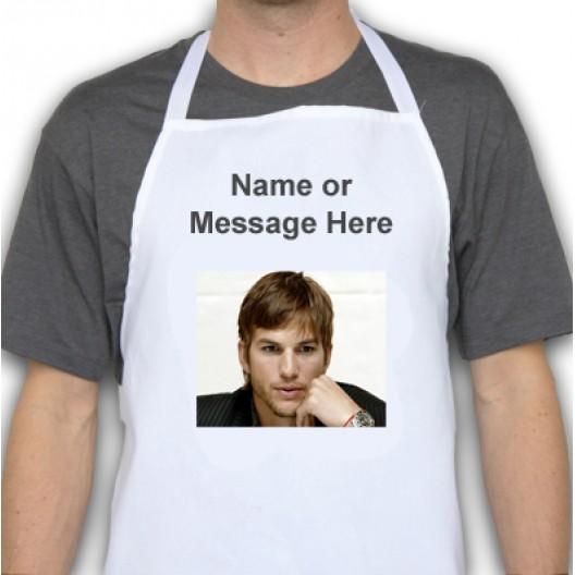 Ashton Kutcher Apron personalised