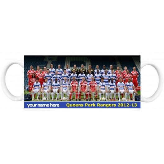 QPR  2012-13 Mug Personalised