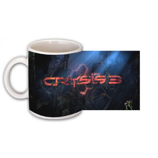 Crysis 3 mug personalised with name