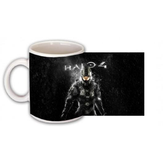 HAllO 4 mug personalised with name